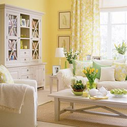 Lemon Yellow interior design