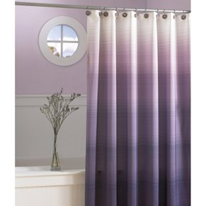 Purple ombre curtains